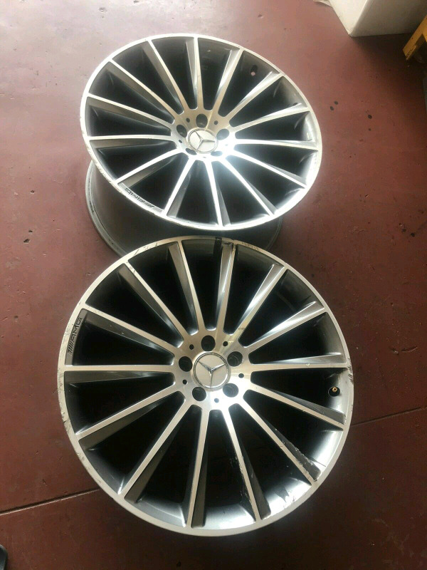 Two 22 inches AMG Narrow for Sale
