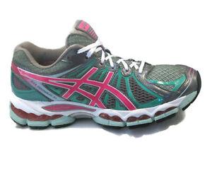 Detalles de Asics Gel Nimbus Zapatillas Running Mujer Talla USA 7 Eur 38