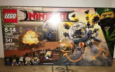 Brand NEW Lego Ninjago Movie 70610 FLYING JELLY SUB exclusive set 341 Piece