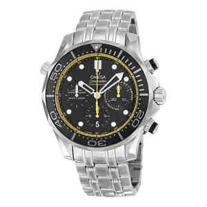 75a51c8d5c3 A imagem está carregando Omega-Seamaster -Diver-Co-axial-Automatico-Cronografo-Relogio-