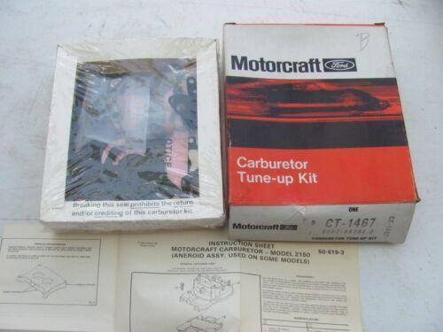 Motorcraft CT-1467 Carburetor Rebuild Kit Fits 1985 F-2 2150 E5TE-AAA//PA