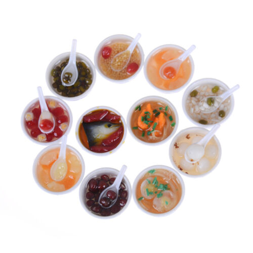 5pcs Simulation Food Dollhouse For Blythe  Doll Accessories food H/&P