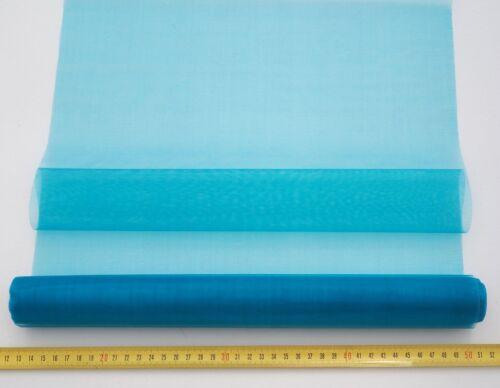 0,82€//m² 9M x 36cm br Tischläufer Tischdeko Organzaschleifen Autodeko Floristik