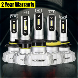 LED-Auto-Headlight-Kit-50W-10000LM-H1-H4-H7-H11-9005-9006-Hi-Low-Beam-6500K-Bulb