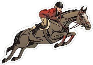 Horse-Jumper-Decal-Bumper-Sticker