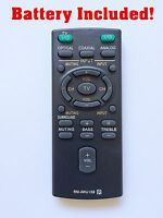 Replacement Remote Rm-anu159 For Sony Sound Bar Ht-ct60 /c Sa-ct60 Ss-wct60