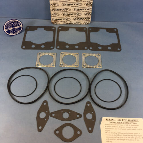 NEW COMETIC TOP END GASKET SET 1995-1999 SKI-DOO FORMULA III 600 LT 1996 1997