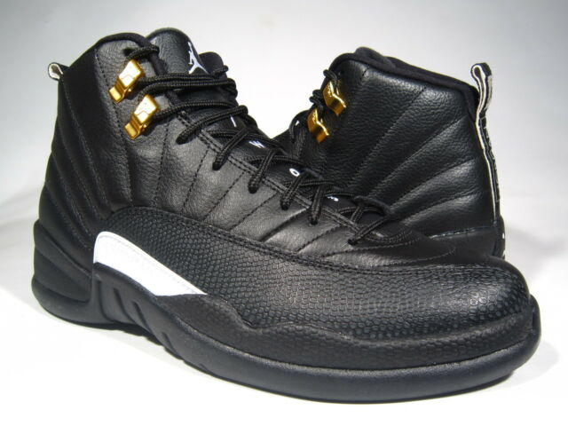 online store 6ddda 0f1ed Nike Air Jordan XII 12 Retro The Master Sz 13 Black Metallic Gold 130690 013