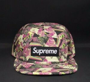 09bf4921eef Image is loading SUPREME-LIBERTY-THORGERSON-CAMP-CAP-PANEL-HAT-ADJUSTABLE-
