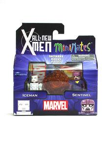 Marvel-Minimates-Iceman-amp-Sentinel-All-New-X-Men-Series-59-Figures-New-In-Box