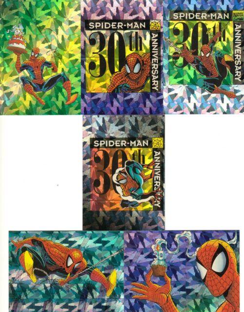 Spider Man 2 Ii 30th Anniversary Prism Insert Card P7 Ebay