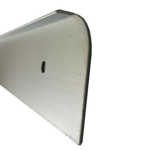 Worktop End Caps 30mm or 40mm Depth Aluminium