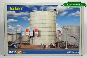 BNIB-OO-HO-GAUGE-KIBRI-39830-DEPOT-STORAGE-TANK-SILO-FUEL-OIL-GAS-KIT