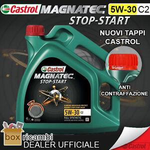 OLIO-MOTORE-CASTROL-MAGNATEC-5W-30-C2-LT-4-SPECIFICHE-FIAT