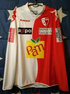 Size Xxl Sion 2010-2011 Switzerland Home Football Long Sleeve Shirt Jersey Kappa