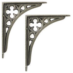 pattern brace shelf wall shelves brackets long cast products bracket ornate victorian custom iron black wholesales import