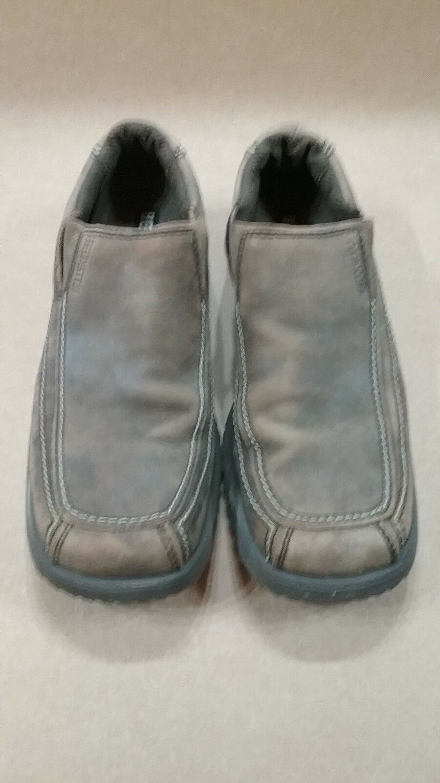 Mens Size 11 BED STU The Next Step Brown Soft Suede Leather Casual Slip-on shoes