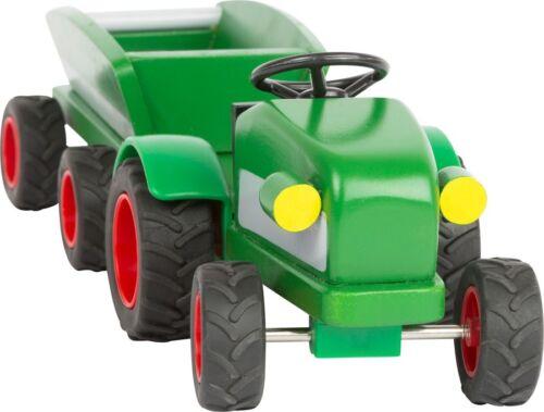 Trecker aus Holz für Bauernhof Woodfriends Traktor Farm