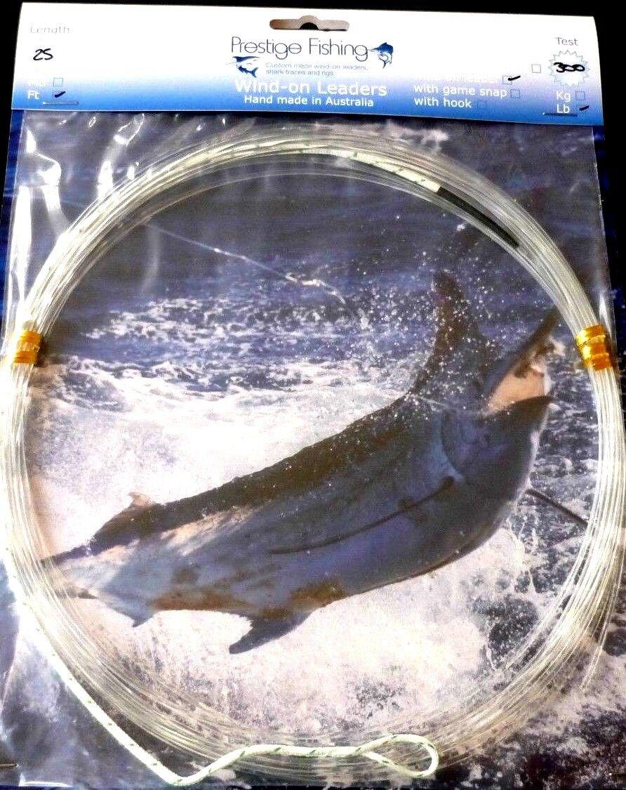 Windon leader 5 x 300 lb wind-on leaders wind on leader tuna marlin kingfish1