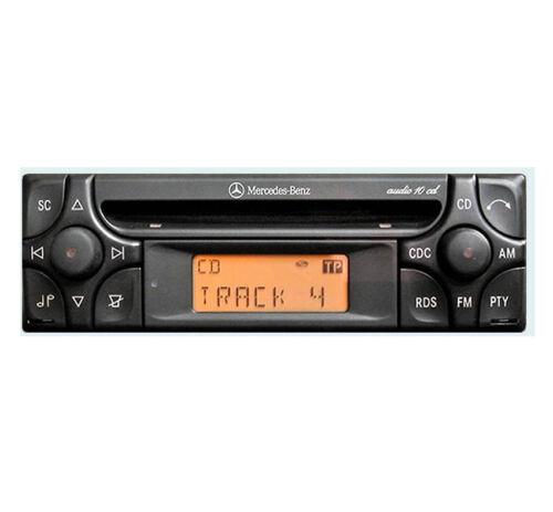 Merc W163 estéreo de coche Mercedes ML Audio 10 reproductor de CD código de radio y llaves