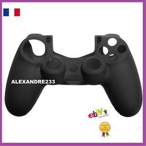 Etui-Housse-Coque-Manette-Controleur-en-Silicone-Joystick-Pr-PS4-PlayStation-4
