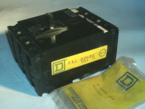 5 PCS AVAILABLE SQUARE D FAL32050 50 AMP 3 POLE 240AC 250DC BREAKER