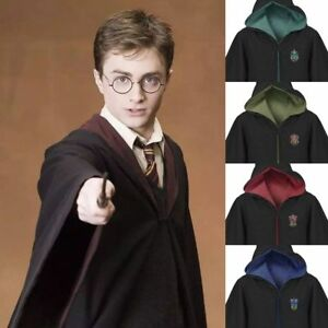 Harry Potter Capo Grifondoro Abito Cosplay Costume Serpeverde COS Hot