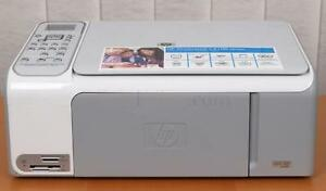 hp photosmart c4100 series all in one inkjet printer c4150 c4180 rh ebay com HP Photosmart Printer All One HP Photosmart 230 Power Cord