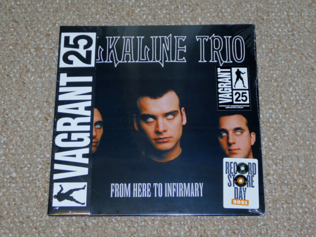 Alkaline Trio - From Here to Infirmary LP Vinyl Record New RSD 2021 Colored