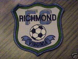 F.c. Richmond Virgina équipe De Foot Rare Sports Cap Patch-afficher Le Titre D'origine