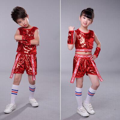 Red Professional Girls Tassel Latin Dance Dress Kid MultiLayer Dancewear costume