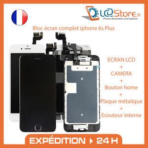 Bloc écran complet Iphone 6S Plus Vitre + LCD + Caméra frontale + bouton home