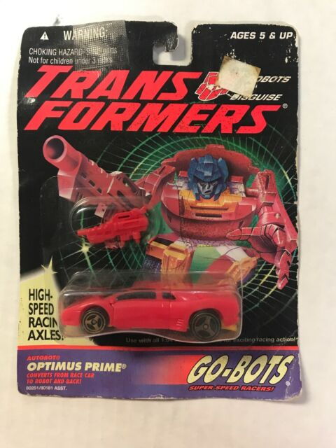 Transformers Go-Bots Optimus Prime ACTION FIGURE NEW//SEALED