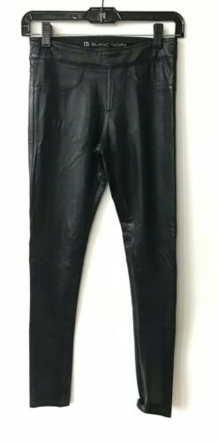 in pelle neri sintetica Pantaloni Blanc Noir 6gxZ6naW