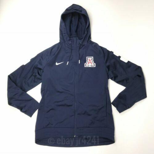 Nike Men's L Arizona Wildcats Elite Stripe Basketball Full Zip Jacket Hoodie for sale online   eBay
