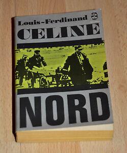 Louis-Ferdinand-Celine-Nord-Livre-de-poche-1971-Superbe