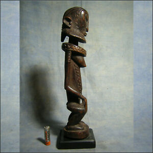 AFRICANTIC STATUE DOGON MALI ART AFRICAIN ANCIEN STATUETTE AFRICAINE AFRIQUE