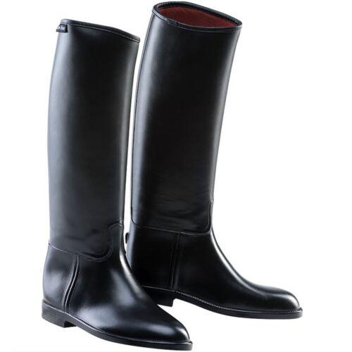 Equi-Thème Basics Enfants Bottes d/'équitation en cuir noir