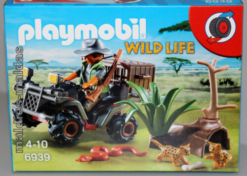 Playmobil 6939 Wild Life Wilderer mit Quad NEU/OVP