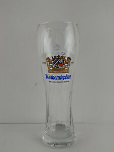 "Weihenstephan Beer Bar Pilsner Swirl Glass .5L 9.5"" Tall Worlds Oldest Brewery"