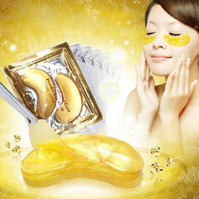 Original Crystal Collagen Gold Eye Mask Augenpads Anti Aging Feuchtigkeitsmaske
