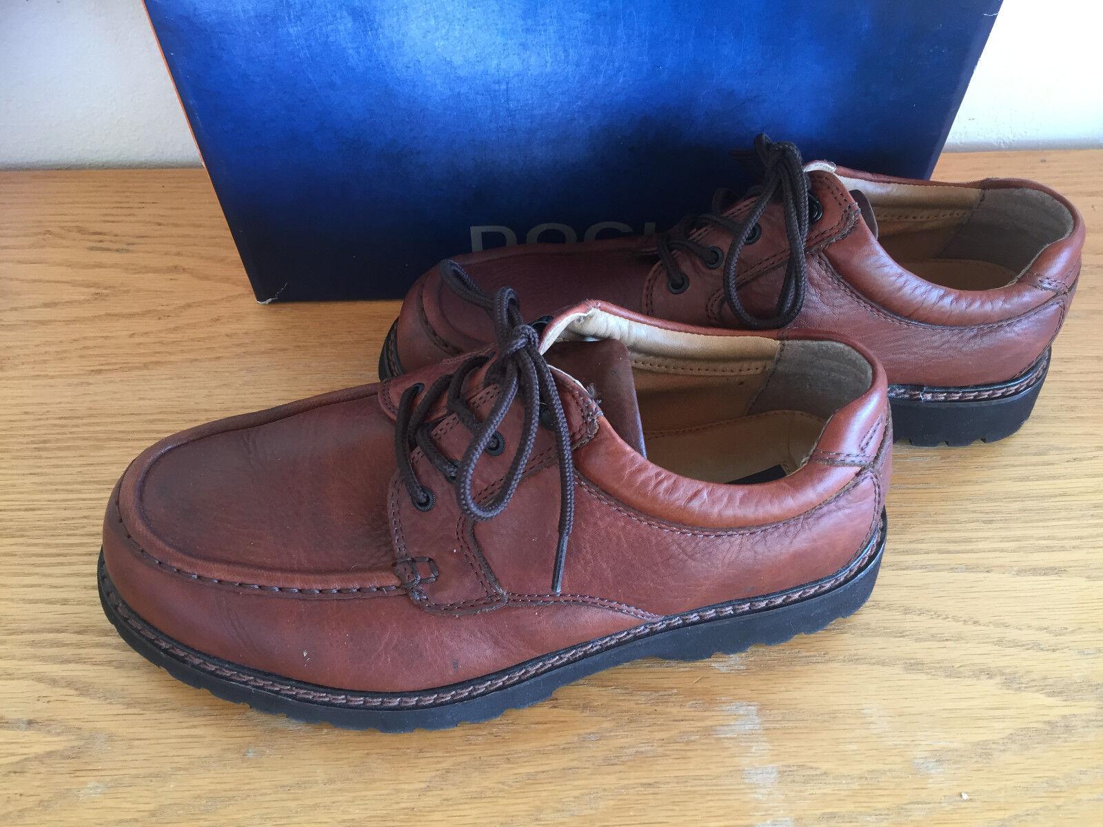 Dockers Glacier Dark Tan Boat shoes Stain Defender 90-6702 Mens 10 1 2 W