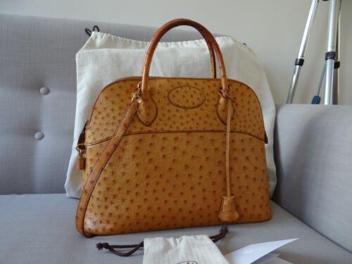 Bag Sac 35cm Autruche Bolide Hermès wPqxH7