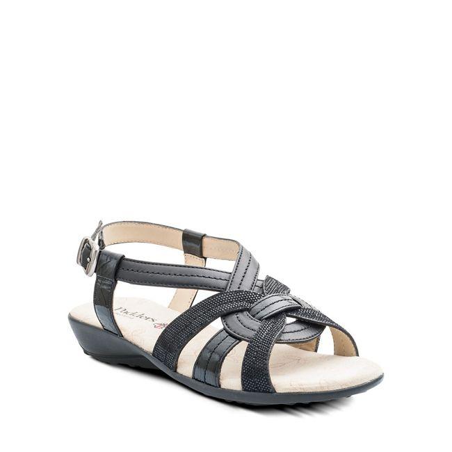 Damenschuhe Padders Pandora Leder Sandales Casual Flat Beach Comfort Schuhes UK 3-8
