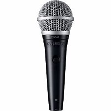 Shure PGA48 Dynamic Vocal Microphone (XLR Cable)