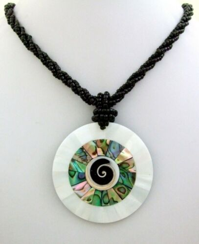 Fashion Necklaces & Pendants Abalone Shell Mother of Pearl