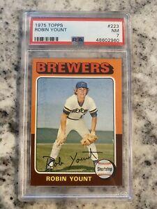 1975 Topps Robin Yount RC MIni