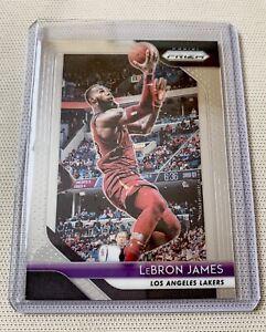 2018-19-Panini-Prizm-6-Lebron-James-Los-Angeles-Lakers-Gem-Mint-Condition
