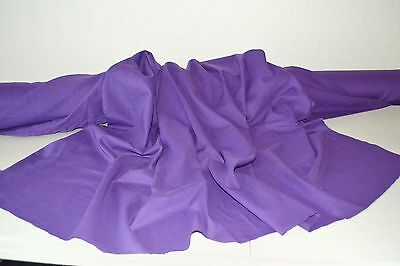 """Purple Cotton Lawn Fabric 100% Cotton 56"""" Wide Fabric by the Yard"""