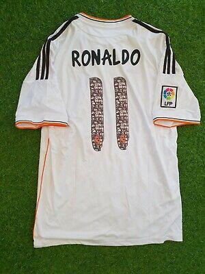real madrid 2013-2014 RONALDO home shirt jersey camiseta magila   eBay